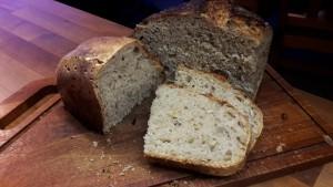 Det færdige brød